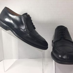 JOHNSTON & MURPHY Leather Lace up Derby Split Toe